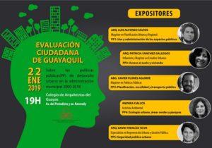 poster evaluacion ciudadana guayaquil