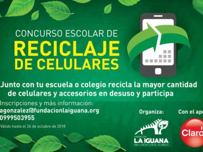 portada blog concurso reciclaje celulares